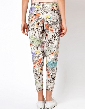 Image 2 ofPaul by Paul Smith Jogging Pants in Collage Floral Print