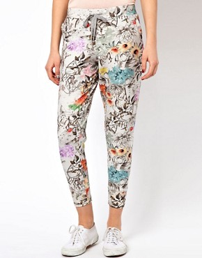 Image 4 ofPaul by Paul Smith Jogging Pants in Collage Floral Print