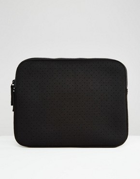 ASOS Ipad Case In Perforated Scuba