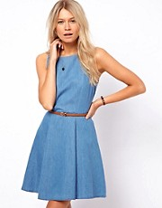 Oasis Sleeveless Skater Dress