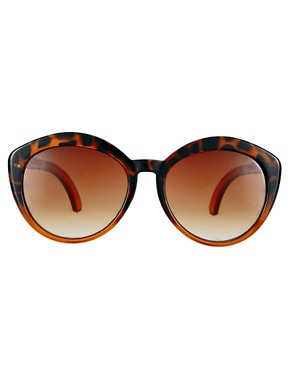 Image 2 ofASOS Highbrow Oversized Round Sunglasses