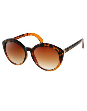 Image 1 ofASOS Highbrow Oversized Round Sunglasses