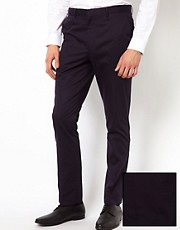 ASOS - Pantaloni da abito slim fit