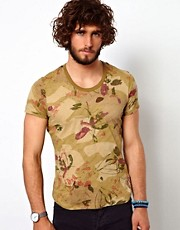 Camiseta con estampado floral de United Colors Of Benetton