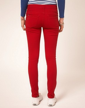 Image 2 ofA Wear Red Skinny Jean