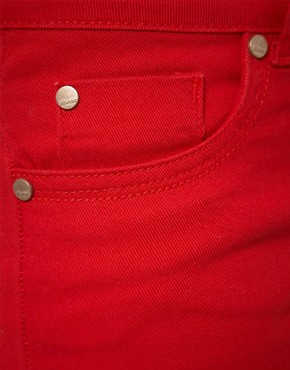 Image 3 ofA Wear Red Skinny Jean