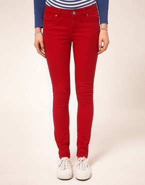 Image 1 ofA Wear Red Skinny Jean