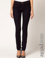 ASOS PETITE Supersoft Skinny Jean in Indigo