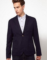 ASOS Slim Fit Cotton Blazer