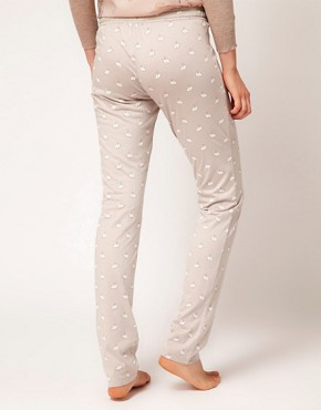 Image 2 ofOysho Rabbit Print PJ Pant