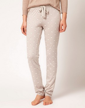 Image 4 ofOysho Rabbit Print PJ Pant