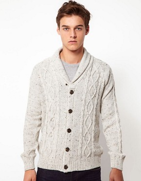 Image 1 of ASOS Cable Cardigan