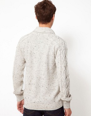 Image 2 of ASOS Cable Cardigan
