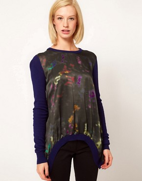 Image 1 ofPreen Line Abstract Swing Sweater