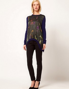 Image 4 ofPreen Line Abstract Swing Sweater