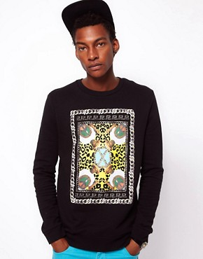 Image 1 ofASOS Sweatshirt With Spike Lee Print