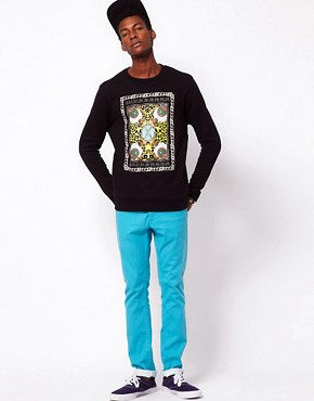 Image 4 ofASOS Sweatshirt With Spike Lee Print