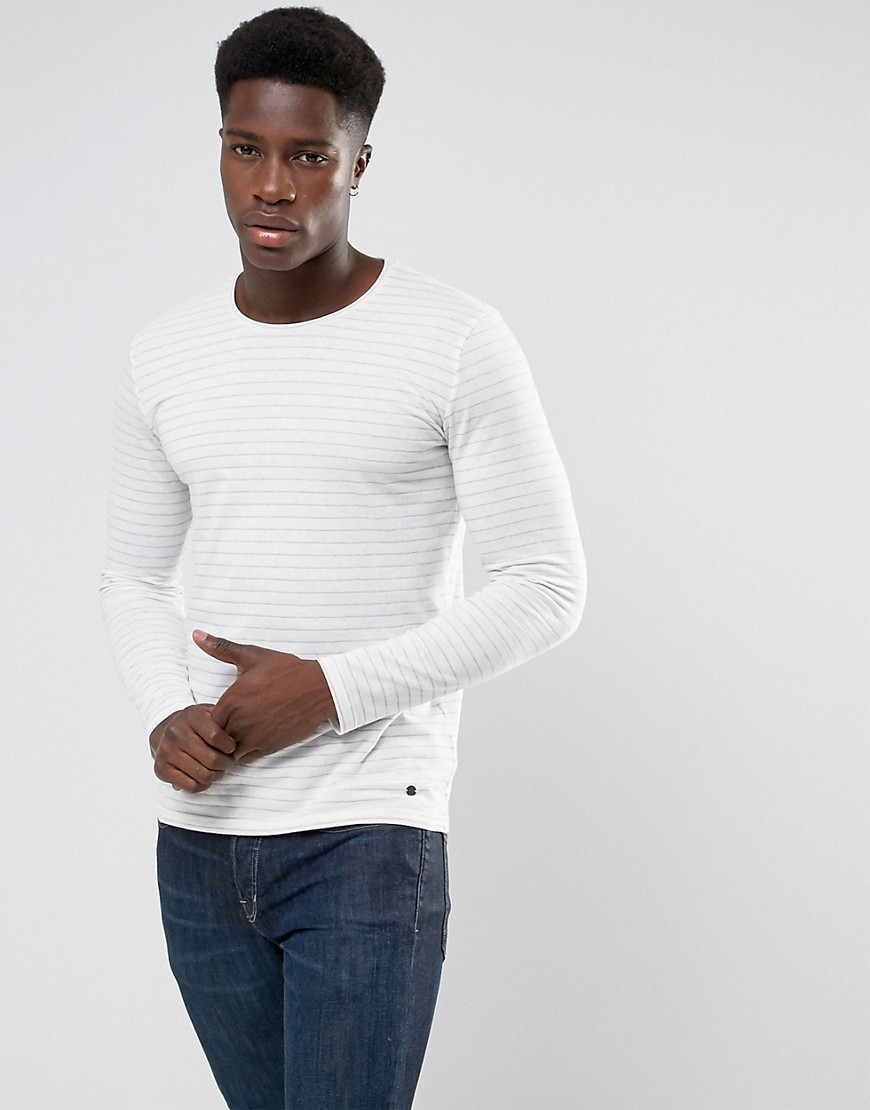 Minimum Ramsey Long Sleeve T-Shirt - Cream