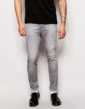 Religion Session Tapered Slim Fit Washed Jeans