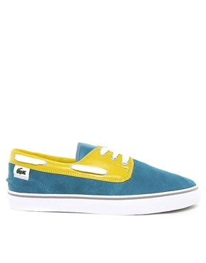 Image 4 ofLacoste L!VE Barbuda Suede Plimsolls