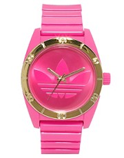 Adidas Santiago Pink Neon Watch