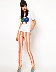 House of Holland - Jeans skinny a righe