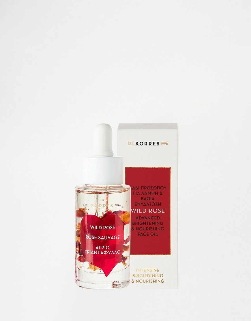 Image 1 of Korres Wild Rose Advanced Brightening & Nourishing Face Oil 30ml