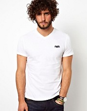 Superdry Orange Label V-Neck T-Shirt