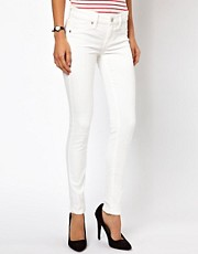 Mango White Skinny Jean