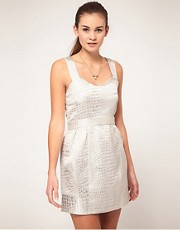 Max C Jacquard Dress