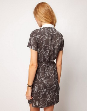 Image 2 ofNW3 Galloping Horse Print Dress