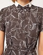 Image 3 ofNW3 Galloping Horse Print Dress