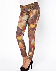 Diesel Livier Printed Ankle Skinny Jeans
