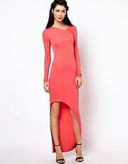 Kore by Sophia Kokosalaki Long Sleeved Full Back Dress