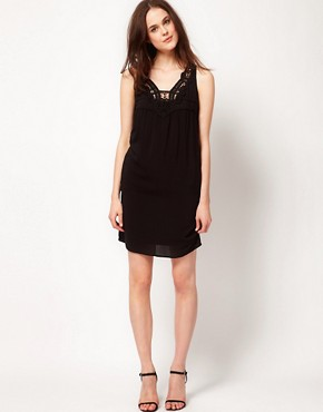 Image 4 ofKookai Lace Insert Dress