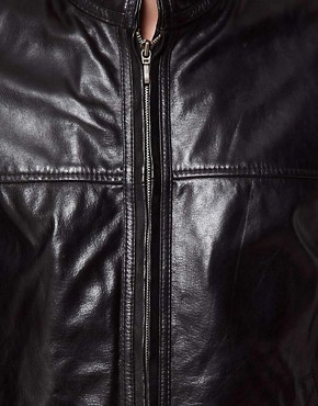 Image 3 ofBarneys Originals Leather Jacket