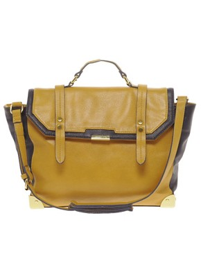 Image 1 ofASOS Metal Corner Satchel