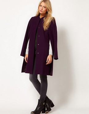 Image 4 ofASOS Cape Coat