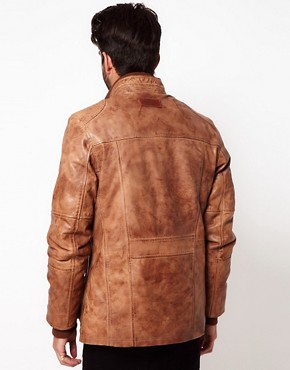Image 2 of Pepe Heritage Leather Jacket
