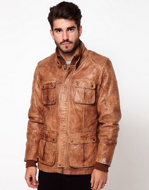Image 1 of Pepe Heritage Leather Jacket