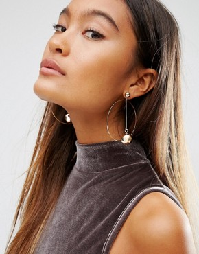 ASOS Circle Earrings