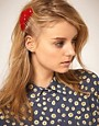 Image 1 ofASOS Red Heart Hair Comb