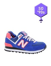 New Balance Exclusive Yacht Club Blue Trainers