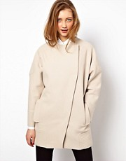 ASOS Multistitch Ovoid Coat