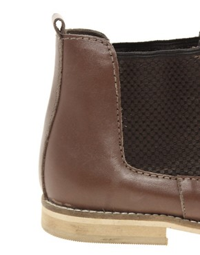Image 2 ofASOS ABACUS Leather Chelsea Ankle Boots
