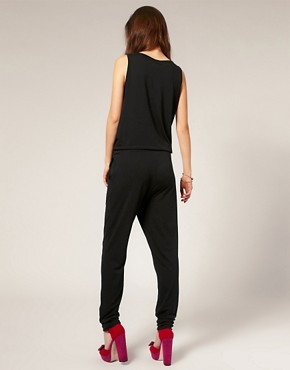 Image 2 ofVero Moda Self Belt Pocket Front Jumpsuit