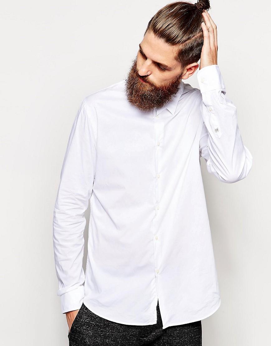 Scotch & Soda Shirt in Cotton - White