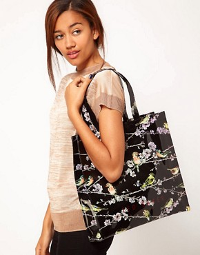 Image 3 ofTed Baker Branch Print Icon Bag