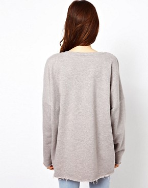 Image 2 ofJust Female Oversized Sweatshirt