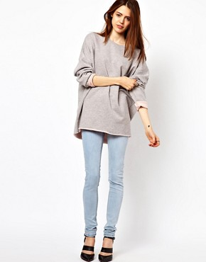 Image 4 ofJust Female Oversized Sweatshirt